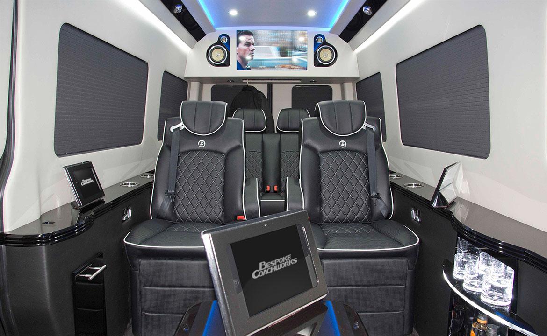 Mercedes Benz Sprinter >> B13 | Bespoke Coach | Luxury Custom Coaches | Sprinter Van Conversions