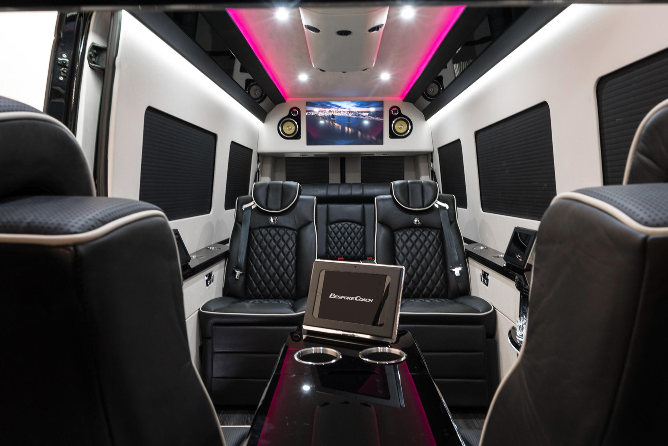 B38 Bespoke Coach Luxury Custom Coaches Sprinter Van