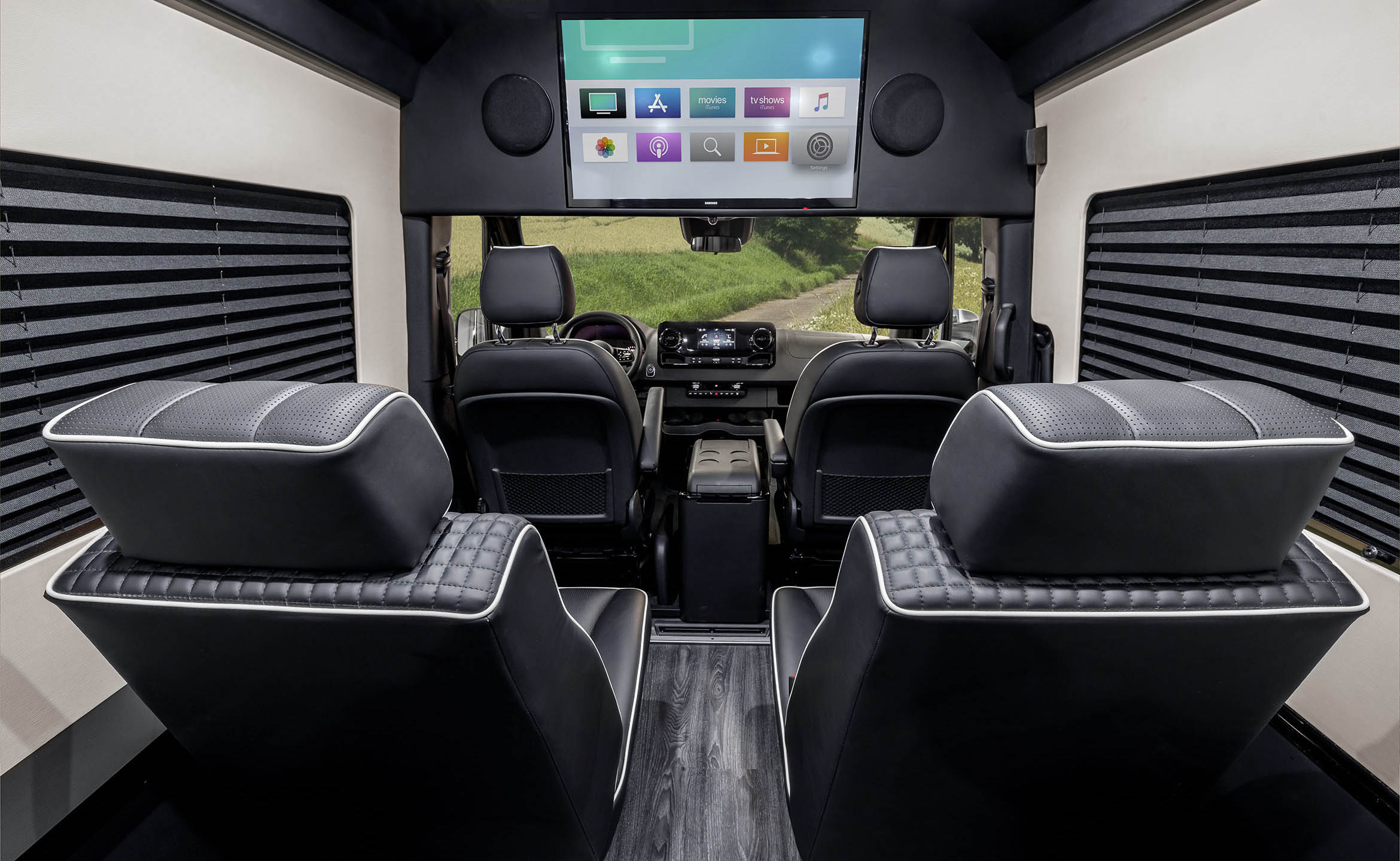 T11 Bespoke Coach Luxury Custom Coaches Sprinter Van