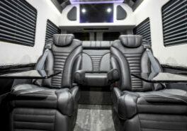 Custom Interior Bespoke Mercedes Benz Luxury Sprinter Van Conversion & Luxury Mobile Offices.